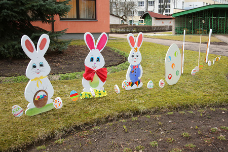 cutted: Easter bunny cutted
