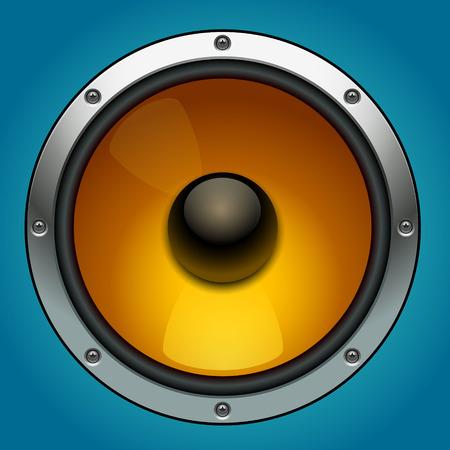 Haut-parleur audio Banque d'images - 36158043