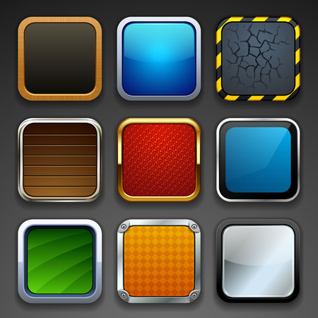 app buttons