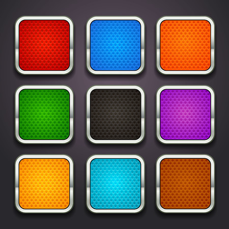 background for the app icons-part 5 Vector