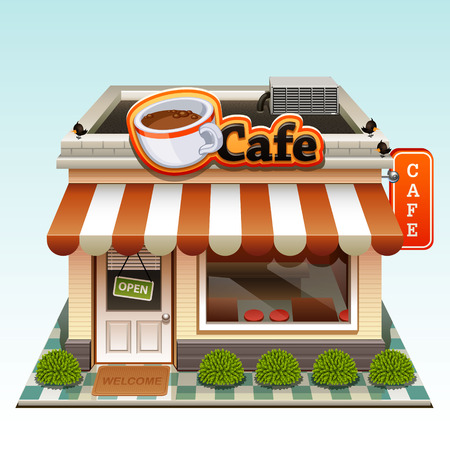 Cafe icon Standard-Bild - 36273786
