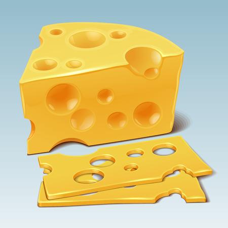 Cheese vector Illustration