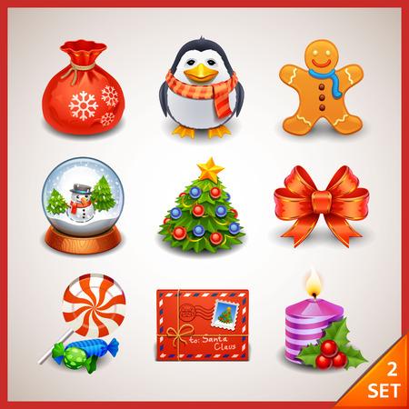 Christmas icon set-2
