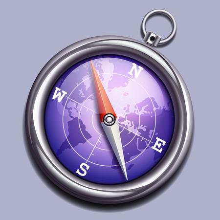 waypoint: Vector compass