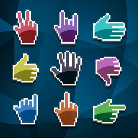 www arm: cursor hands