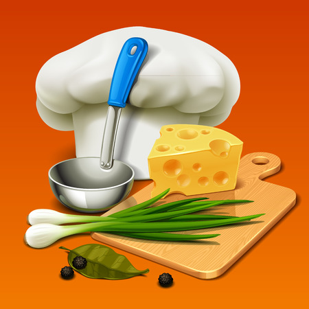 learning to cook: cooking icon