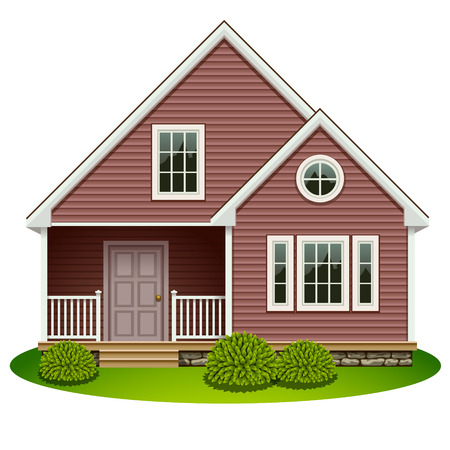 exterior wall: home icon Illustration