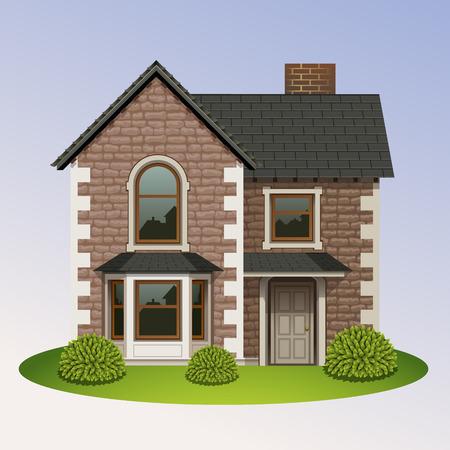 proprietary: home icon-4 Illustration