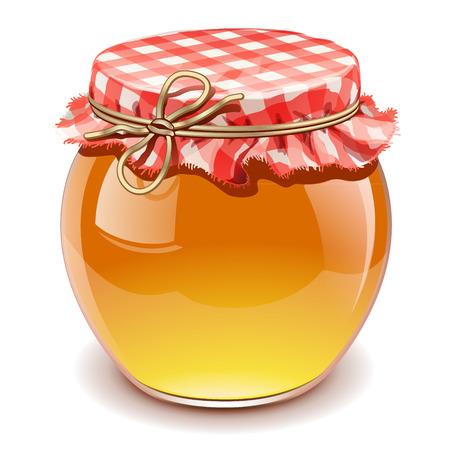 分離された蜂蜜  イラスト・ベクター素材