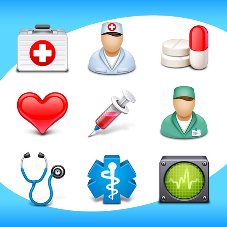 medical icons: medical icons