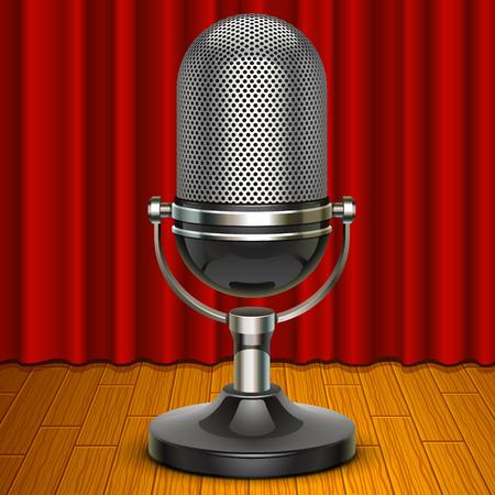 microfono antiguo: micr�fono