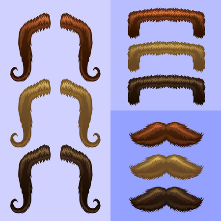 fake mustaches: mustaches-part 1