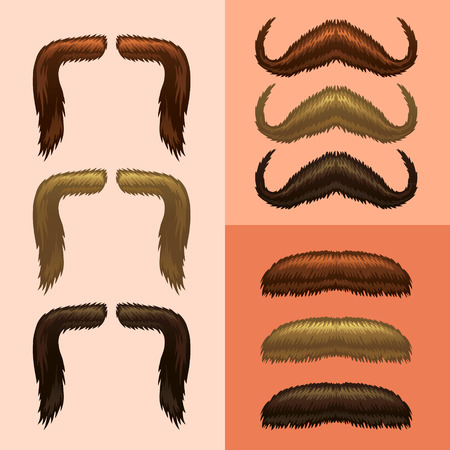fake mustaches: mustaches-part 2