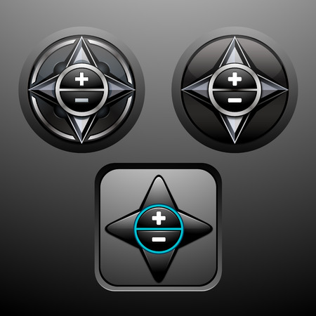 navigation panel: Navigation button Illustration