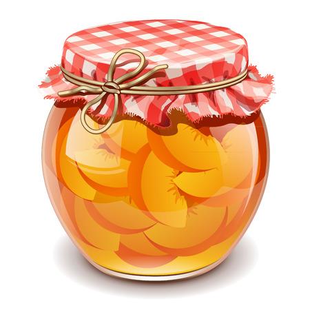 peach jam Illustration