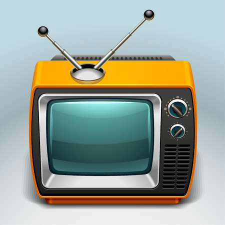 tv screen: retro TV icon
