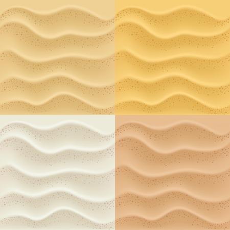 modèles de sables