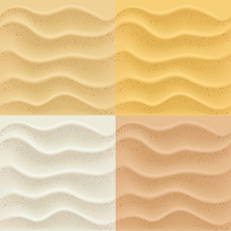 sand dune: sand patterns