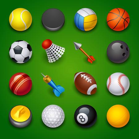 sport icons Illustration