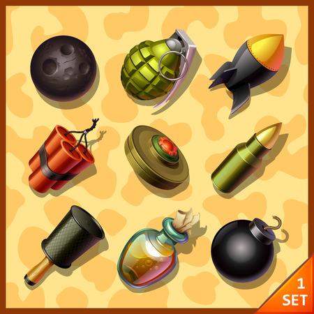 bide: ic�nes d'armes