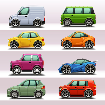 car icon set-4