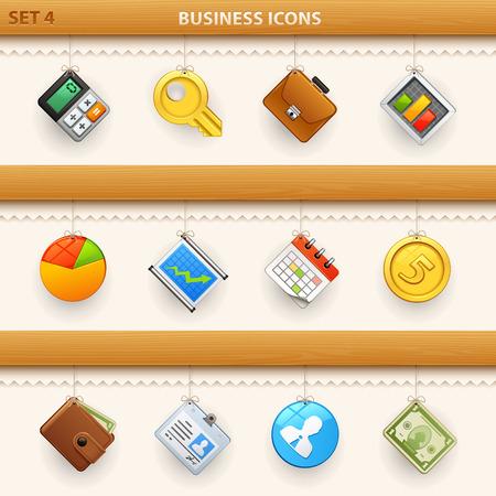 hung: hung icons - set 4 Illustration