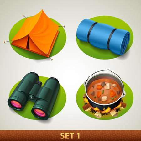 iconset: vector tourism icon-set 1
