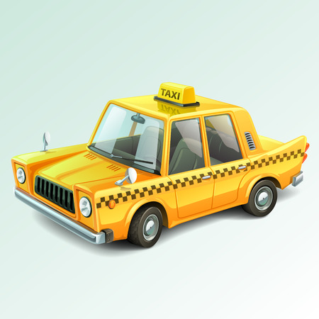 taxi: taxi car