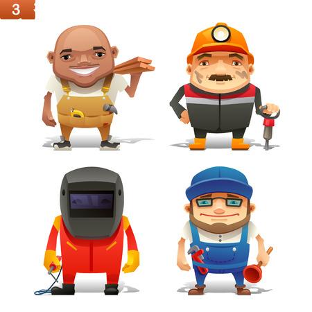 Construction professions set-1