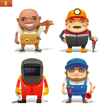 Construction professions set-1