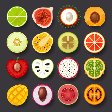 fruit icon set-2