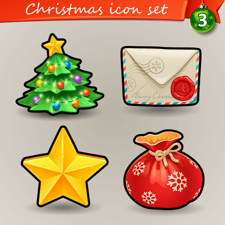Funny Christmas icons-3
