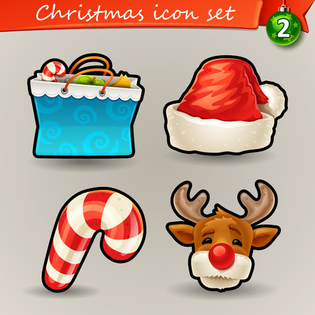 Funny Christmas icons-2