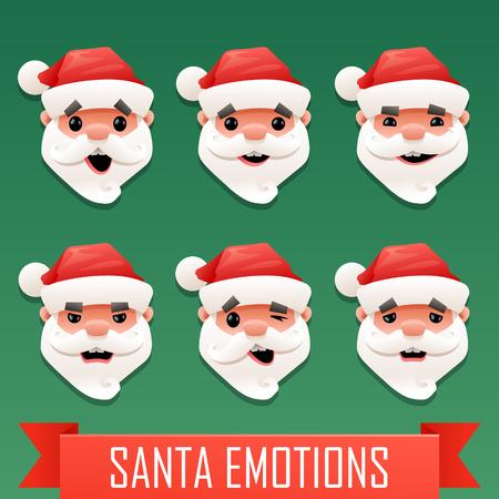 emotions: Santa emotions