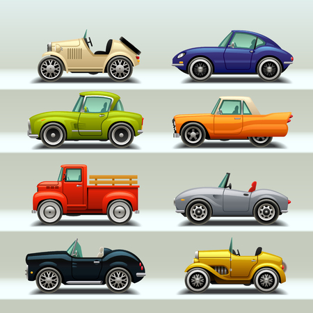 car icon set-8