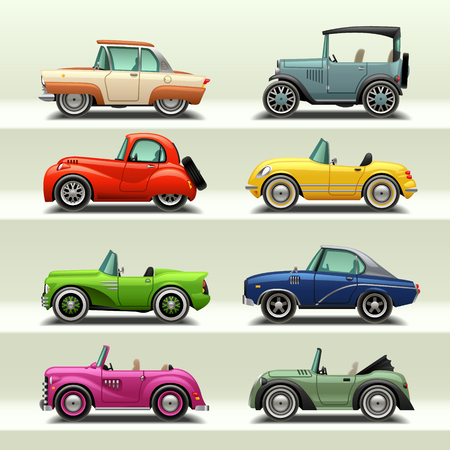 car icon set-7