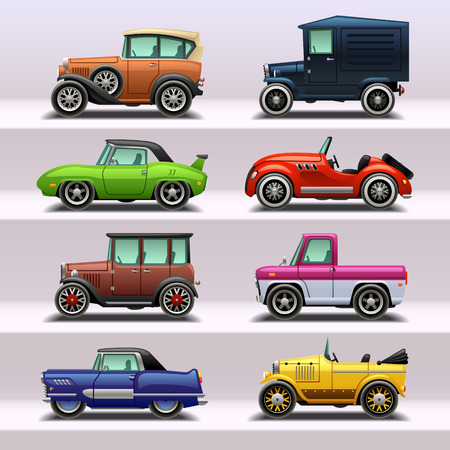 car icon set-9