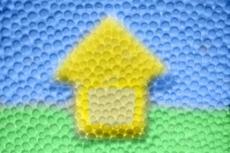siluet: abstract siluet home