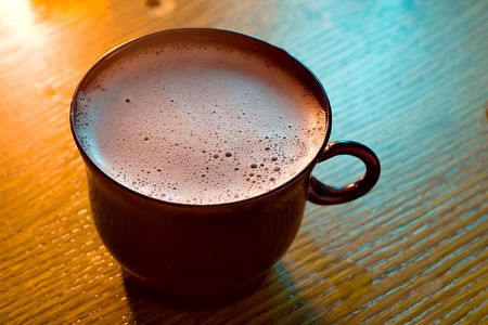 Drink a cup of foam Stock Photo - 5926573