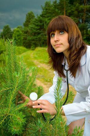 Doctor treats nature photo
