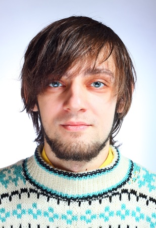 Portrait of a young handsome man Stock Photo - 9153141