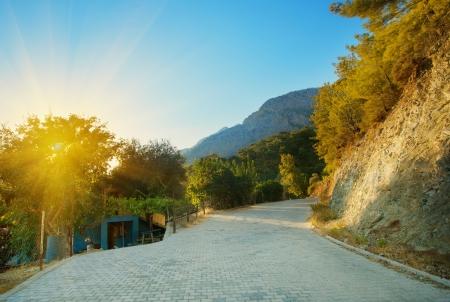 Mountain road Stock Photo - 16741972