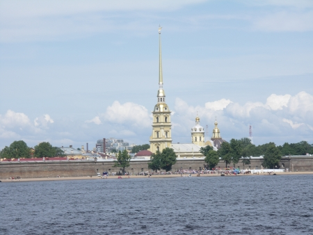 isaac s: St Petersburg, the Peter and Paul Fortress Stock Photo