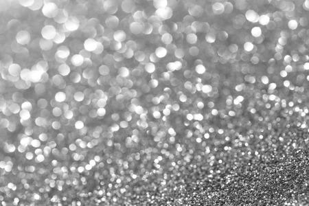 nowy rok: srebrny brokat