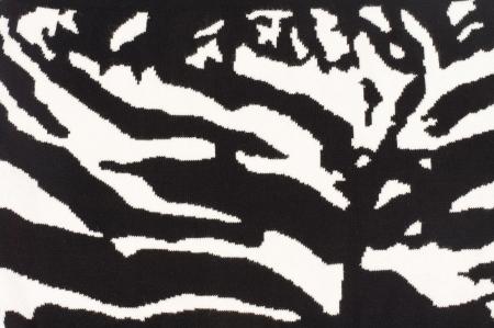Striking background zebra stripe pattern with alternating contrasting black and white stripes arranged randomly photo
