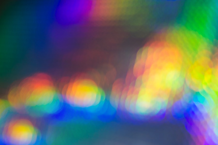 Attractive Colorful Lights with Diffuse Effect for Wallpaper Backgrounds, Emphasizing Copy Space