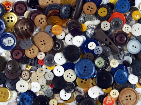 group of the buttons forming texture background