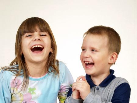 Daring children     Stock Photo
