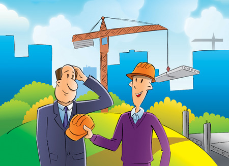 builder and inspector photo