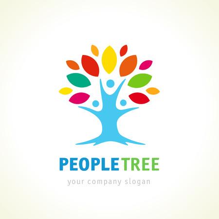 tree logo: People tree logo